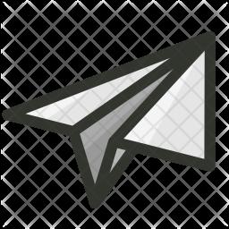 Send Colored Outline Icon