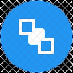 Send Back Flat Icon