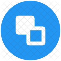Send Backward Flat Icon