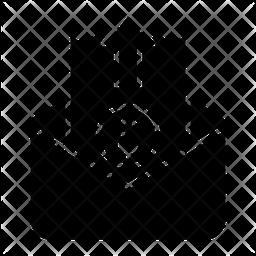 Send E Bill Glyph Icon