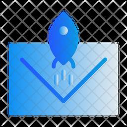 Send Mail Gradient Icon