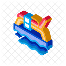 Sending Parcel Isometric Icon