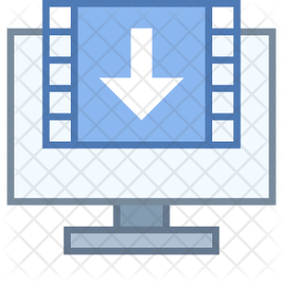 Sending Video frames Icon
