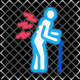Senile Arthritis Icon
