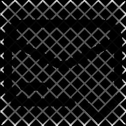 Sent Line Icon