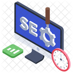 SEO Icon of Isometric style - Available in SVG, PNG, EPS, AI ...