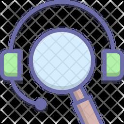 Seo Colored Outline Icon