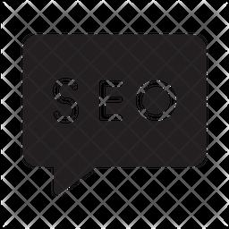 Seo Message Icon