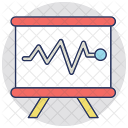 SEO Monitoring Colored Outline Icon