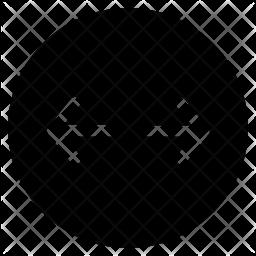 Separating arrow Icon