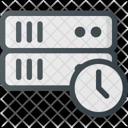 Server Colored Outline Icon