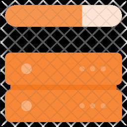 Server bandwith Icon