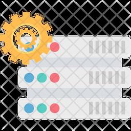 Server Configure Flat Icon