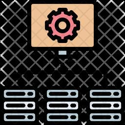 Server optimization Icon