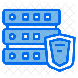 Server Shield Dualtone Icon
