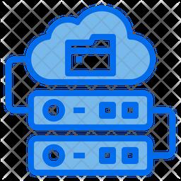 Server Sotrage Dualtone Icon