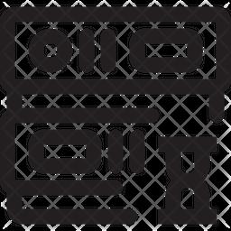 Server Time Line Icon
