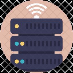 Server Wifi Icon