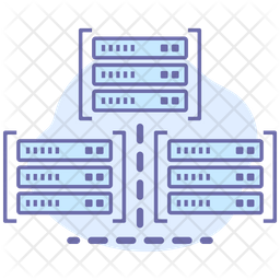 Server workstation Icon
