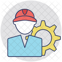 Service Man Icon
