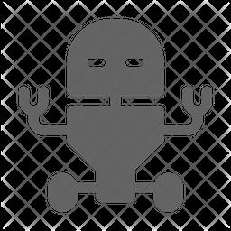 Service robot Glyph Icon