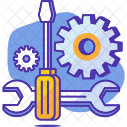 Setting, Gear, Preferences, Repair, Tool, Screw, Driver Icon