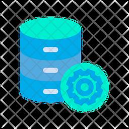 Settings Database Icon