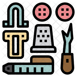 Sewing accessories Icon