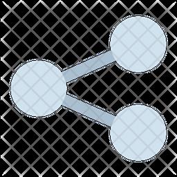 Share Dualtone Icon
