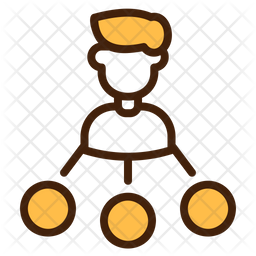 Share Colored Outline Icon