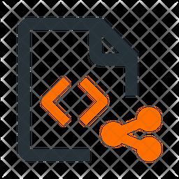 Share Coding File Icon