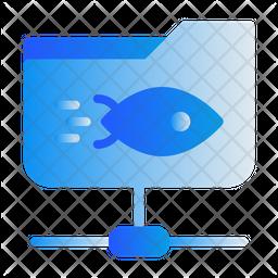 Share Document Gradient Icon