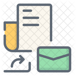 Share Document Message Icon