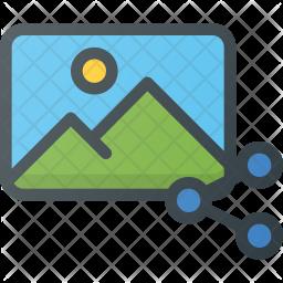 Share image file Icon