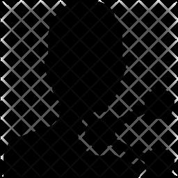 Share User Glyph Icon