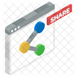 Share Website Icon