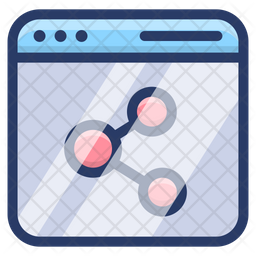 Share Website Network Icon