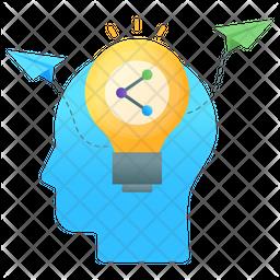 Sharing Ideas Flat Icon