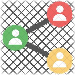 Sharing Information Icon