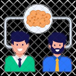 Sharing Knowledge Flat Icon