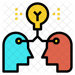Sharing Knowledge Icon Of Colored Outline Style Available In Svg Png Eps Ai Icon Fonts