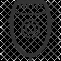 Shaver Line Icon