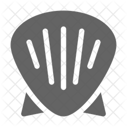 Shell Glyph Icon