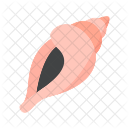 Shell Flat Icon
