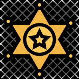 Sheriffs, Badge, Gang, Crime, Mafia, Robber Icon png