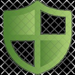 Shield Gradient Icon