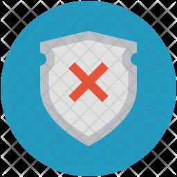 Shield cross Icon