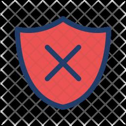 Shield Off Logo Icon