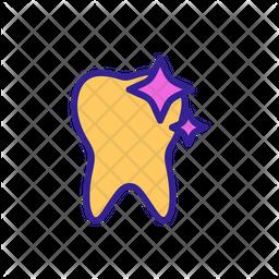 Shining Teeth Icon