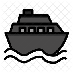 Ship Icon Of Colored Outline Style Available In Svg Png Eps Ai Icon Fonts